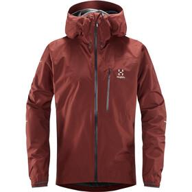 Haglöfs L.I.M Jacket Herre maroon red